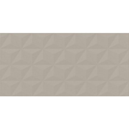 Cersanit PS802 Cappuccino Satin Geo Structure Płytka ścienna 29x59 cm, brązowa W566-012-1