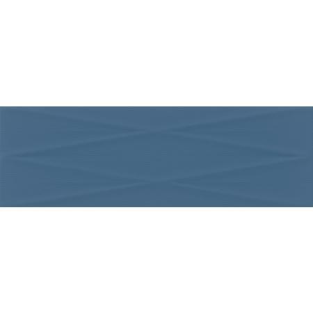 Cersanit Gravity Marine Blue Lines Structure Satin Płytka ścienna 24x74 cm, niebieska NT856-008-1