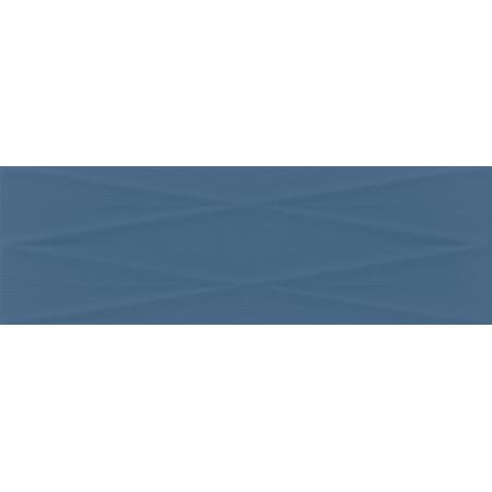 Cersanit Gravity PS700 Marine Blue Lines Structure Satin Płytka ścienna 24x74 cm, niebieska NT856-008-1