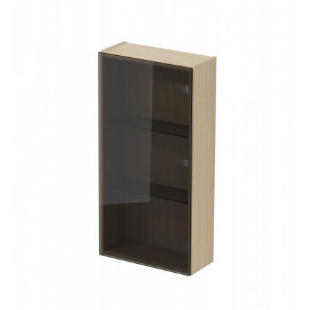 Cersanit Inverto Szafka boczna 40x17,2x79,2 cm szkło dymione S930-015
