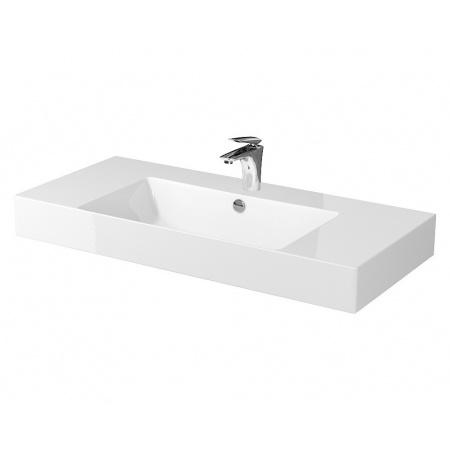 Cersanit Inverto Umywalka nablatowa 100x45 cm biała K671-007