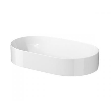 Cersanit Inverto Umywalka nablatowa 60x35 cm biała K671-009