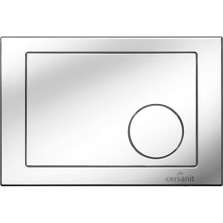 Cersanit Link Kółko Przycisk spłukujący do WC, chrom błyszczący K97-090