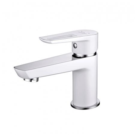 Cersanit Mille White Jednouchwytowa bateria umywalkowa, biała/chrom S951-047