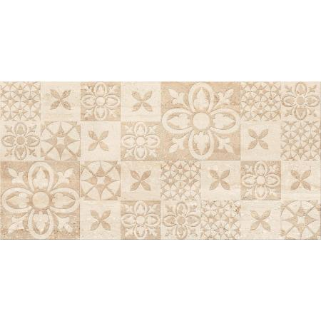 Cersanit Nanga Inserto Patchwork Płytka ścienna 29,7x60 cm, brązowa WD389-003