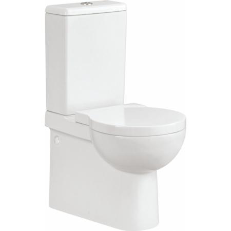 Cersanit Nano Toaleta WC kompaktowa 37x57x82,5 cm z deską antybakteryjną, biała K19-012