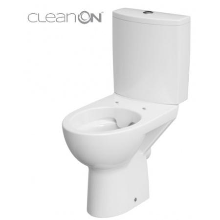 Cersanit Parva Toaleta WC kompaktowa 35x61x77,5 cm CleanOn bez kołnierza wewnętrznego, biała K27-062