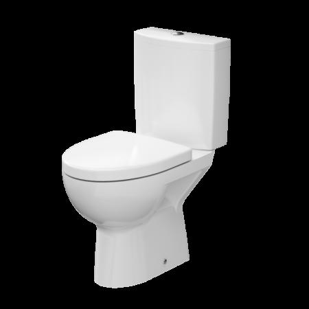 Cersanit Parva Toaleta WC kompaktowa 36x59,5x78,5 cm z deską wolnoopadającą, biała K27-004