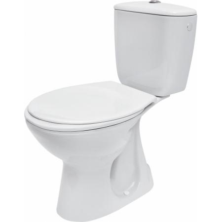 Cersanit President Toaleta WC kompaktowa 36,5x64,5x75 cm z deską antybakteryjną, biała K08-039