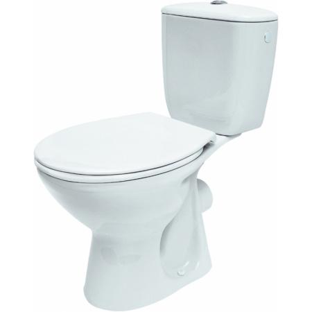 Cersanit President Toaleta WC kompaktowa 37,5x64,5x75 cm z deską polipropylenową, biała K08-028