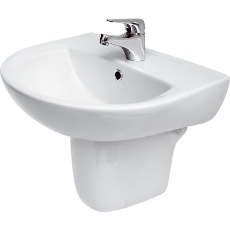 Cersanit President Umywalka wisząca 55x45,5 cm biała K08-007
