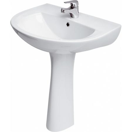Cersanit President Umywalka wisząca 60,5x48,5x19 cm bez otworu na baterię, biała K08-009