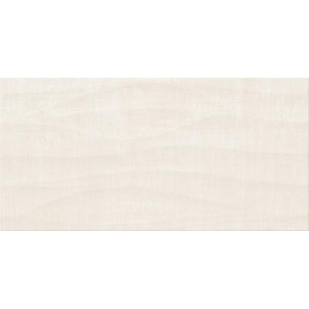Cersanit Shiny Textile PS810 Cream Satin Structure Płytka ścienna 29,8x59,8 cm, kremowa OP502-003-1