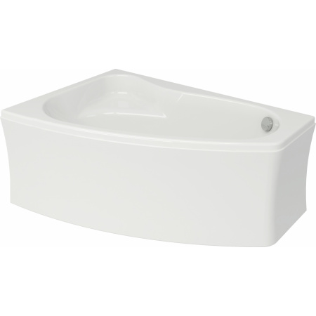Cersanit Sicilia Wanna narożna 160x100x45 cm akrylowa lewa, biała S301-036