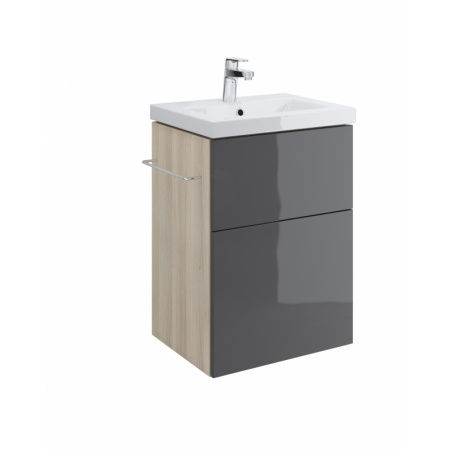 Cersanit Smart Szafka podumywalkowa 47x38x67 cm, szara S568-017