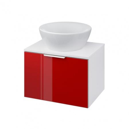 Cersanit Stillo Szafka podumywalkowa 59,4x44,7x40 cm, czerwona S575-008