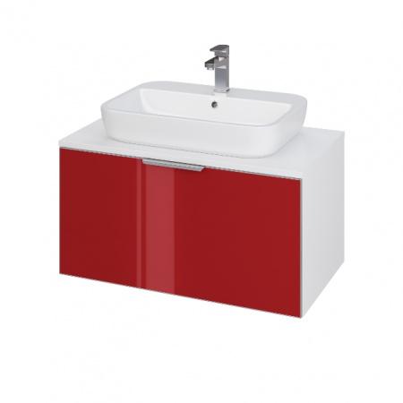 Cersanit Stillo Szafka podumywalkowa 79,4x44,7x40 cm, czerwona S575-005