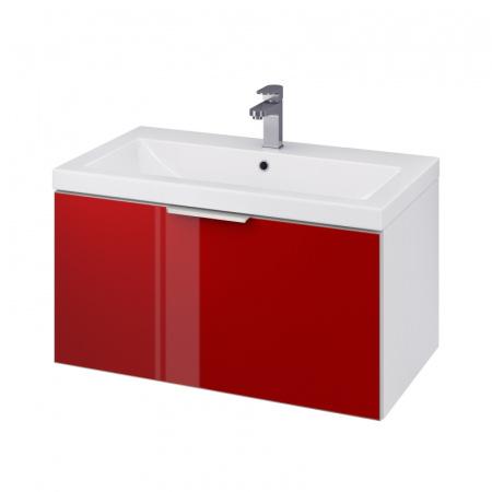 Cersanit Stillo Szafka podumywalkowa 79,4x44,7x40 cm, czerwona S575-011