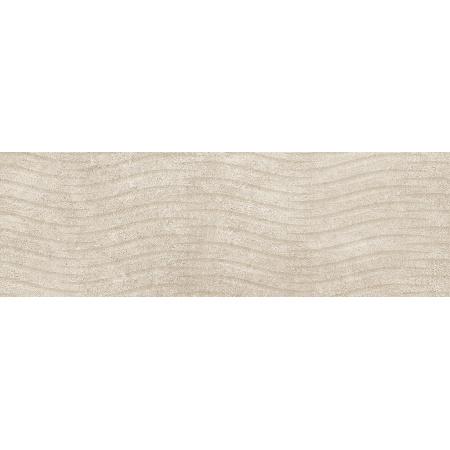 Cersanit Torana Cream 3d Satin Płytka ścienna 24x74 cm, kremowa NT858-009-1