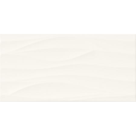 Cersanit PS800 White Satin Wave Structure Płytka ścienna 29,8x59,8 cm, biała W562-002-1
