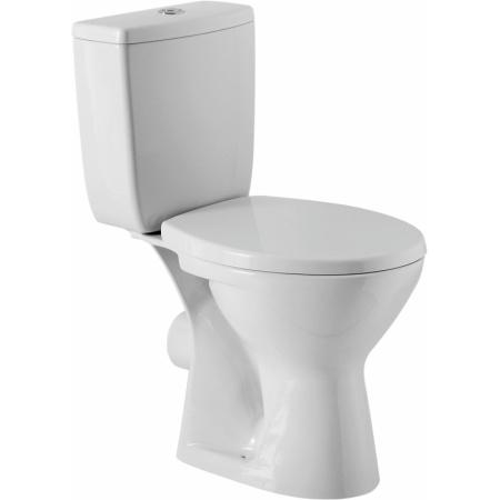 Cersanit Zenit Toaleta WC kompaktowa 35,5x62,5x75,5 cm z deską polipropylenową, biała K100-210