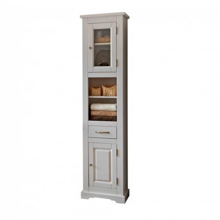 Comad Romantic 800 Słupek boczny 45x30x190 cm, biały ROMANTICNOWYFSC800