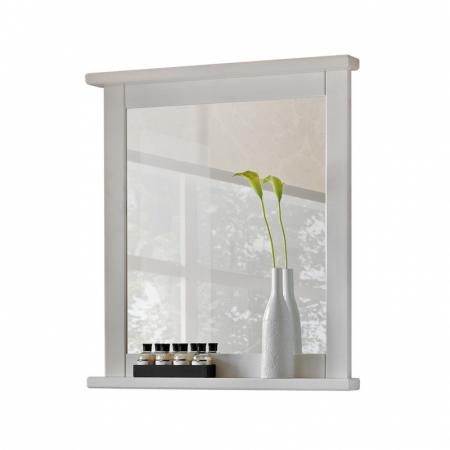 Comad Romantic 840 Lustro ścienne prostokątne 70x80 cm, białe ROMANTICNOWYFSC840