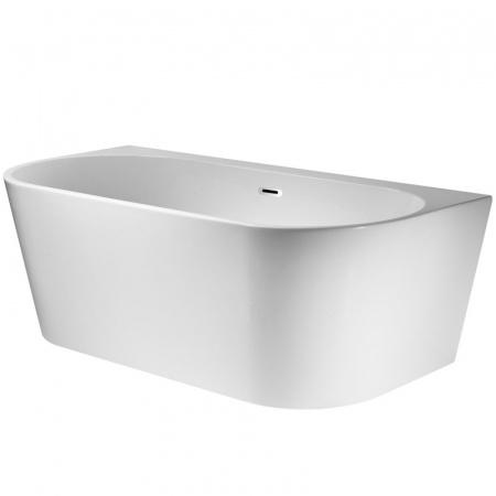 Corsan Mono Wanna przyścienna 150x75 cm, biała E-030M