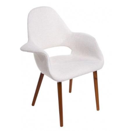 D2 A-Shape Krzesło inspirowane Organic chair 72x60 cm, białe 19832