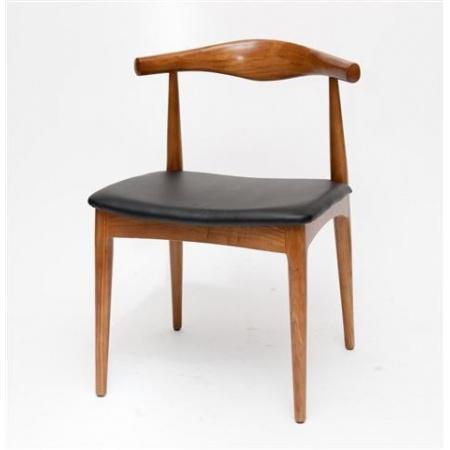 D2 Codo Krzesło inspirowane Elbow Chair 52x55 cm, jasnobrązowe 14544