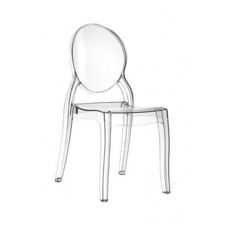 D2 Mia Krzesło 47x50 cm, przezroczyste 3251