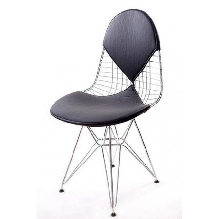 D2 Net double Krzesło inspirowane Wire Chair 50x52 cm, czarne 3531