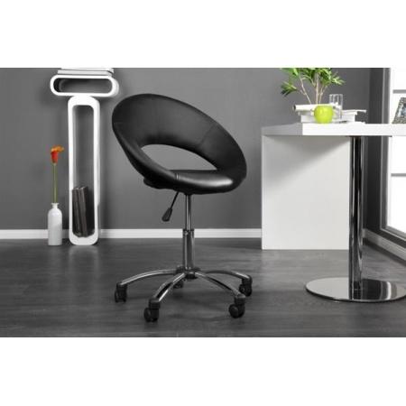 D2 Senna Fotel biurowy 64x64 cm, czarny 27303