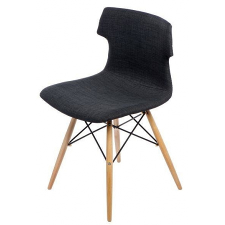 D2 Techno DSW Krzesło tapicerowane 50x40 cm, grafitowe 41133
