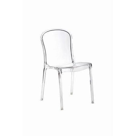 D2 Uma Krzesło 42x38 cm, przezroczyste D2UMATRA