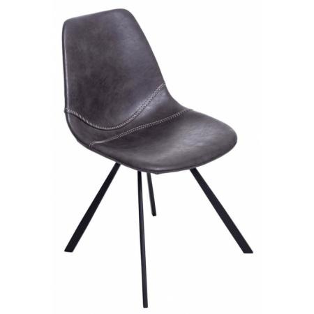 D2 Vincent M Krzesło 49x58 cm, szare 71172