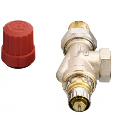 Danfoss RA-N 15 UK Zawór termostatyczny osiowy z nastawą wstępną KVS 0,90, 013G0153