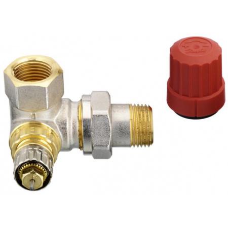 Danfoss RA-N 15 Zawór termostatyczny trójosiowy prawy z nastawą wstępną KVS 0,90, 013G0233
