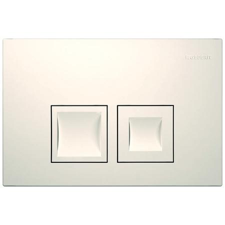 Geberit Delta50 Przycisk spłukujący do WC UP100, biały 115.135.11