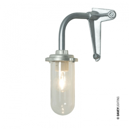 Davey Lighting Bracket Light Kinkiet 36x19 cm IP54 Standard E27 GLS, czarny DP7672/BL/060C/AC