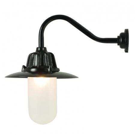 Davey Lighting Dockside Kinkiet 28x25 cm IP54 Standard E27 GLS, czarny DP7675/BL/FR
