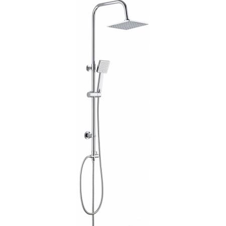 Deante Floks Zestaw prysznicowy natynkowy, chrom NAC01FK