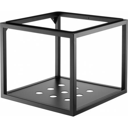 Deante Konsola ścienna do umywalki 50x50x41,5 cm czarna CSWX50A