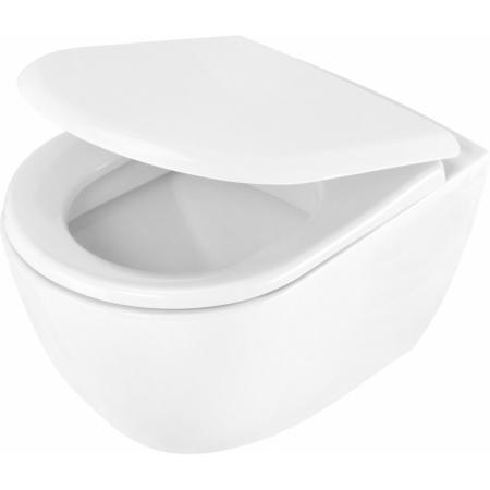 Deante Peonia Toaleta WC podwieszana 51x35,5 cm, biała CDE6WPW