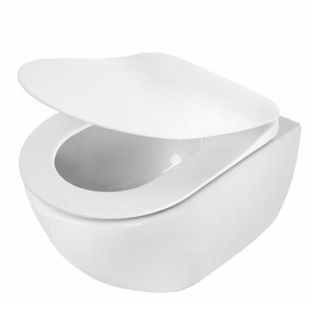 Deante Peonia Zero Toaleta WC podwieszana 51x36 cm bez kołnierza, biała CDE6ZPW