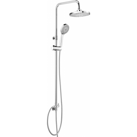 Deante Peonia Zestaw prysznicowy natynkowy, chrom NAC019K