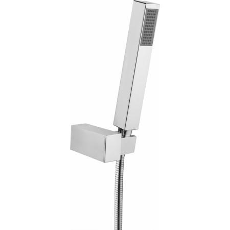 Deante Square Zestaw prysznicowy natynkowy chrom NOQ041K