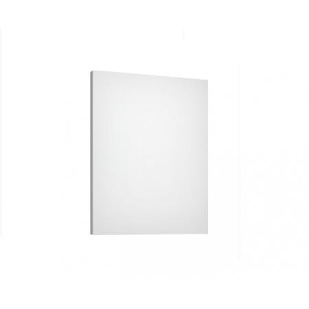 Defra Como L60 Lustro ścienne prostokątne 60x4,2x76 cm lakier biały połysk 123-L-06001
