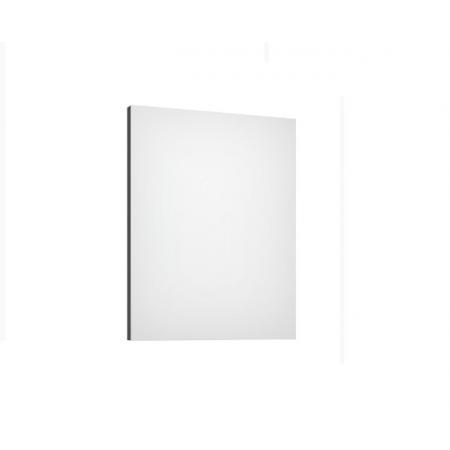 Defra Como L60 Lustro ścienne prostokątne 60x4,2x76 cm lakier grafitowy matowy 123-L-06005