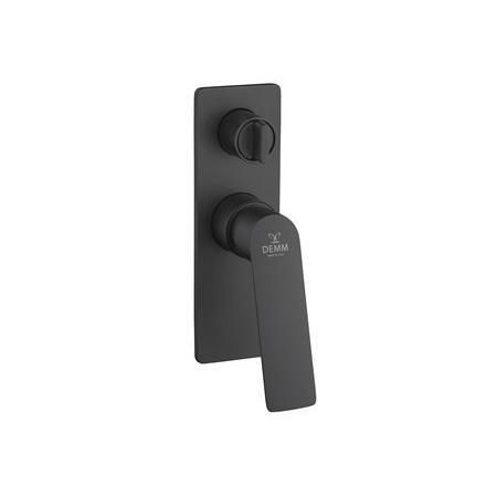 Demm Sleek Bateria prysznicowa podtynkowa czarny mat 9950/CZ